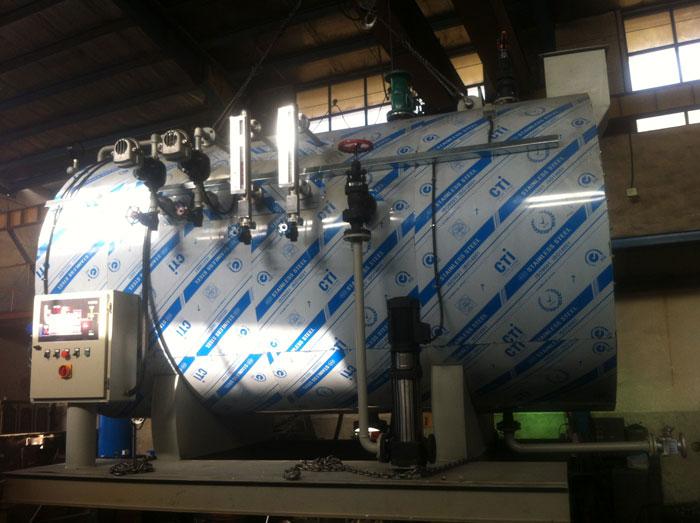 دیگ های آب گرم - دیگ آب گرم مستقیم - بویلر آب گرم