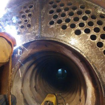 تعویض دیگ بخار قدیمی یا تعمیر